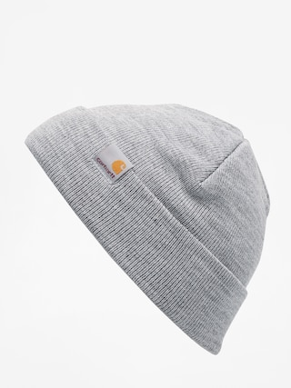 7825f2d3cb3 ... Carhartt WIP Stratus Low Beanie (grey heather) ...