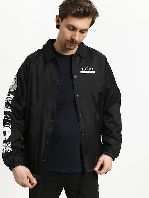 Supra Nexus Coaches Jacket (black)