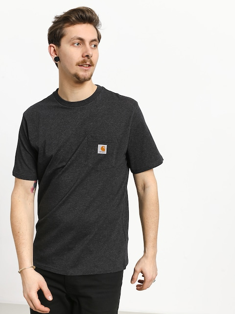 Carhartt WIP Pocket T-shirt (black heather)