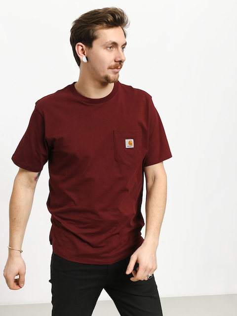 Carhartt WIP Pocket T-shirt (cranberry)