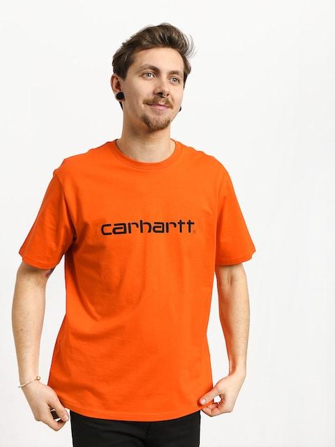 Carhartt WIP Script T-shirt (pepper/black)