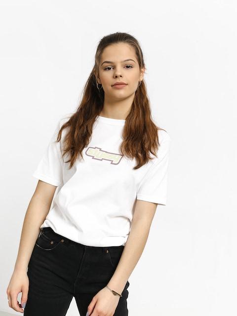 Stussy Drop U T-shirt Wmn (white)