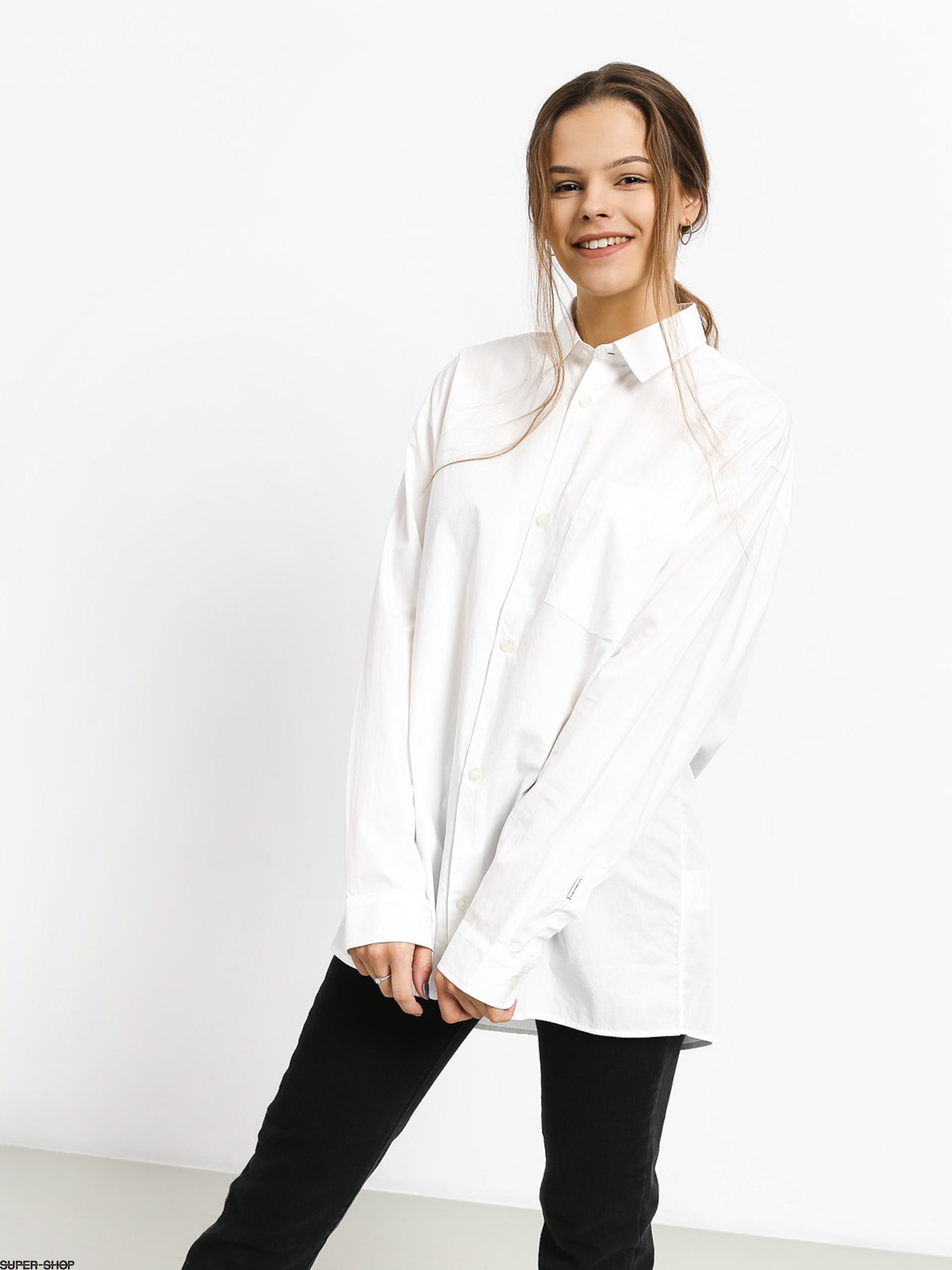 nice shoes get online coupon codes Carhartt WIP Liv Shirt Wmn (white)
