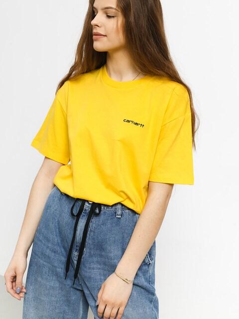Carhartt WIP Script Embroidery T-shirt Wmn (primula/black)
