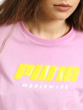 Puma Tz T-shirt Wmn (pale pink)