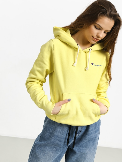 Champion Premium Reverse Weave Hooded Sweatshirt HD Hoodie Wmn