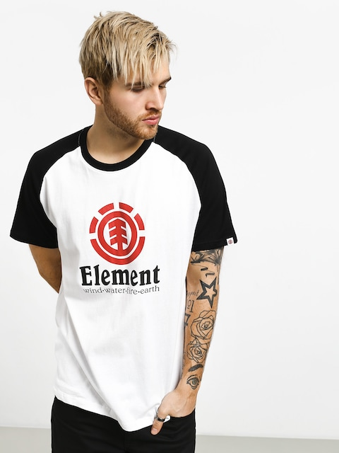 Element Vertical Raglan T-shirt (optic white)