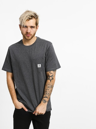 Element Basic Pocket Label T-shirt (charcoal heather)