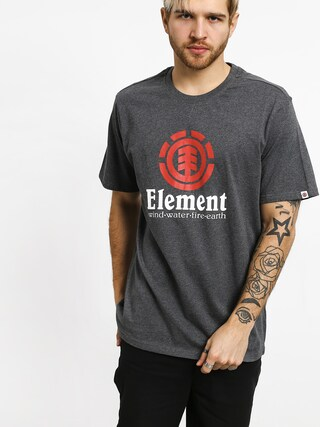 Element Vertical T-shirt (charcoal heather)