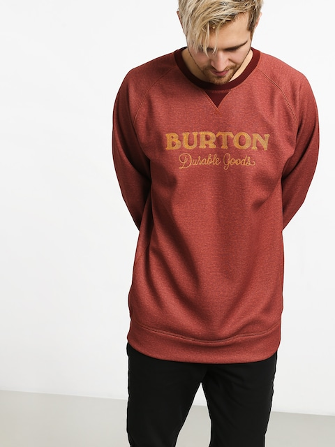 Burton Crown Bndd Crew Active sweatshirt (sparrow heather)