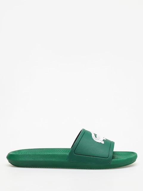 Lacoste Croco Slide 119 1 Flip-flops (green/white)