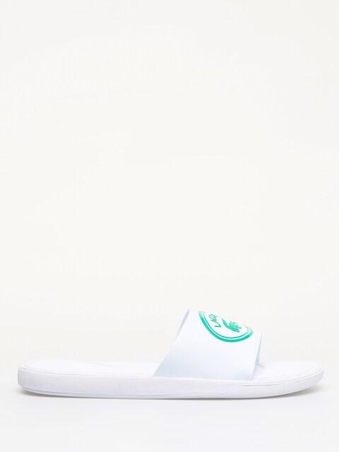 Lacoste L.30 Slide 119 3 Flip-flops (white/green)