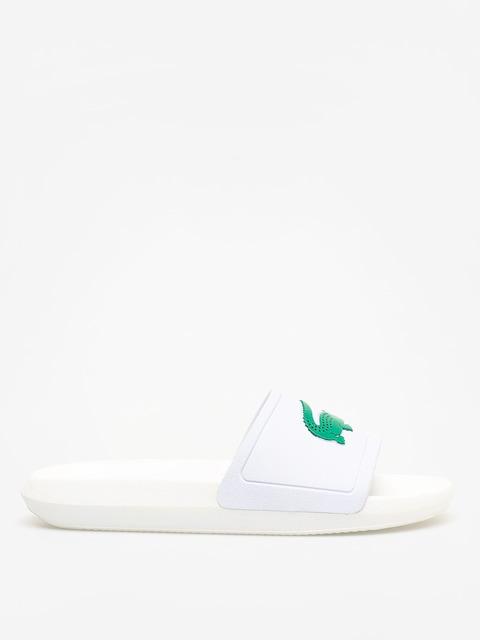 Lacoste Croco Slide 119 3 Flip-flops Wmn (white/green)