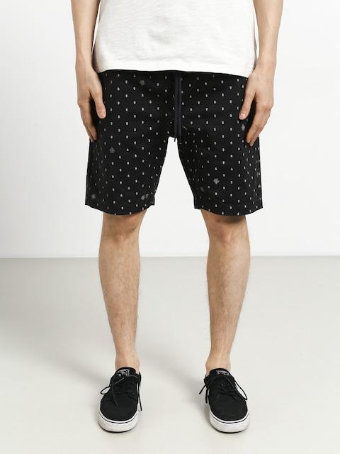 Element Altona Print Shorts (off black)