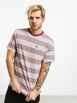 RVCA Longsight T-shirt (bordeaux)