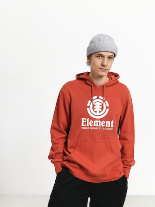 Element Vertical FT HD Hoodie (etruscan red)