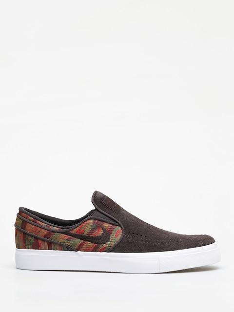 Nike SB Zoom Stefan Janoski Slip Premium Shoes (velvet brown/velvet brown multi color)