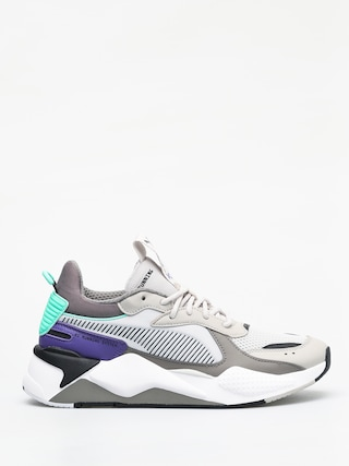 Puma Rs X Tracks Shoes (gray violet/charcoal gray)