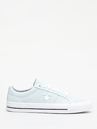 Converse One Star Pro Refinement Ox Shoes (teal tint/black/wh)