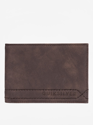Quiksilver Stitchy Wallet (chocolate brown)