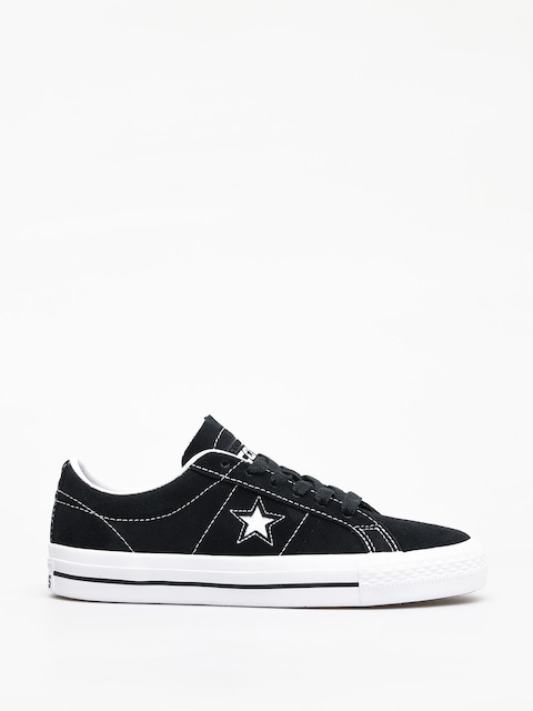 Converse One Star Pro Refinement Ox Shoes (black)