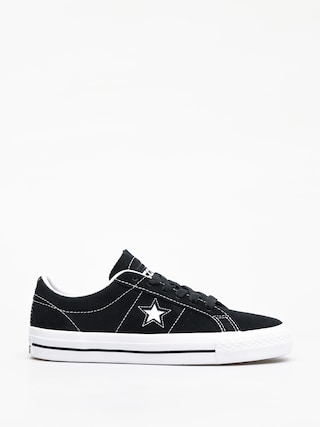 Converse One Star Pro Refinement Ox Shoes (black/white/white)