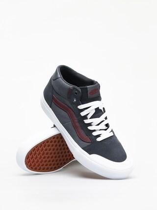 Vans Style 112 Mid Pro Shoes (ebony/port royale)