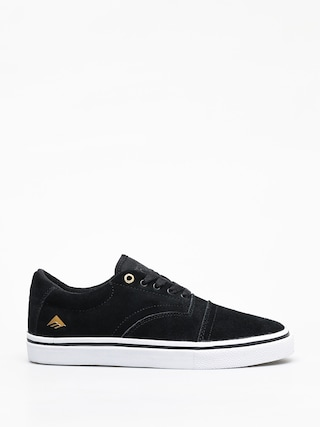Emerica Provider Shoes (black/white/gold)