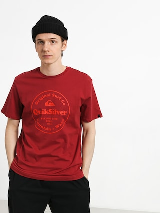 Quiksilver Secret Ingredient T-shirt (brick red)