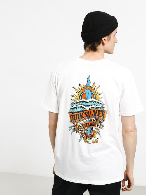 Quiksilver Tattered T-shirt