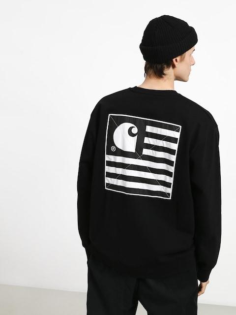 Carhartt WIP State Patch Sweatshirt (black)