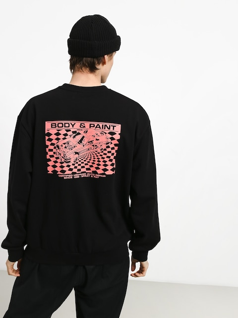 Carhartt WIP Body & Paint Sweatshirt (black/red)