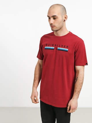 Quiksilver Get Bizzy T-shirt (brick red)