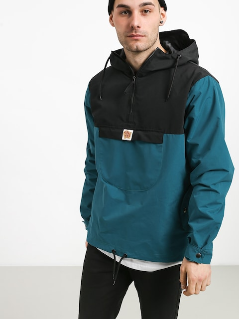 Turbokolor Freitag Jacket (black/mint)