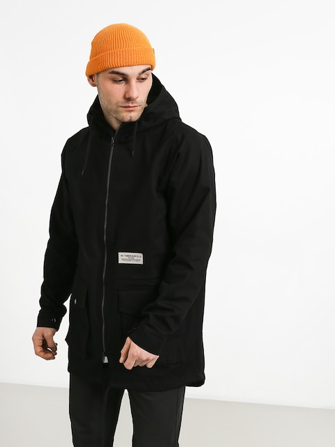 Turbokolor Parka Jacket (black)