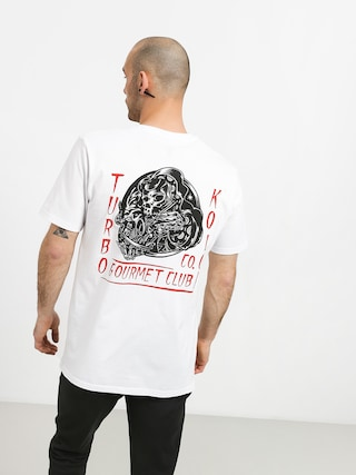 Turbokolor Gourmet T-shirt (white)