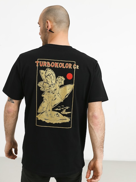 Turbokolor Lets Surf T-shirt (black)