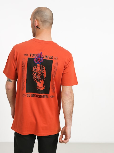 Turbokolor Light My Fire T-shirt (orange)