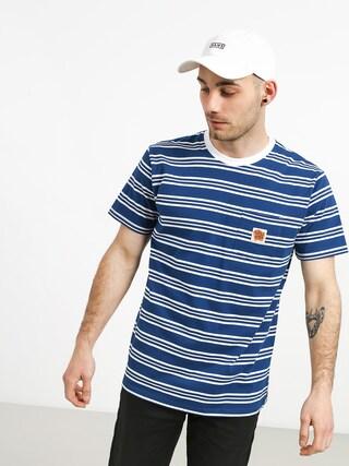 Turbokolor Stripes Pocket Heinz T-shirt (blue/white)