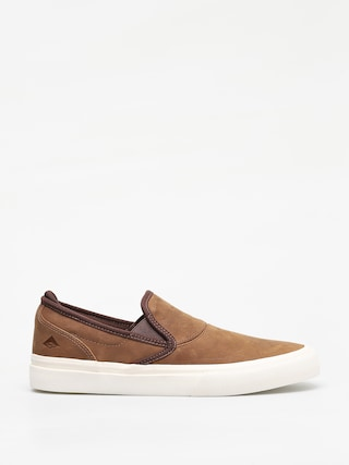 Emerica Wino G6 Slip On Shoes (brown)