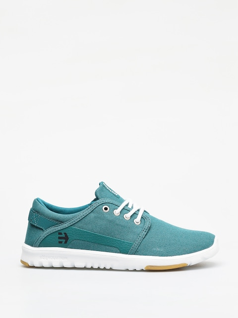 Etnies Scout Shoes (green/white/black)