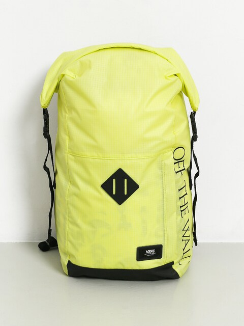 Vans Fend Roll Top Backpack (sunny lime)