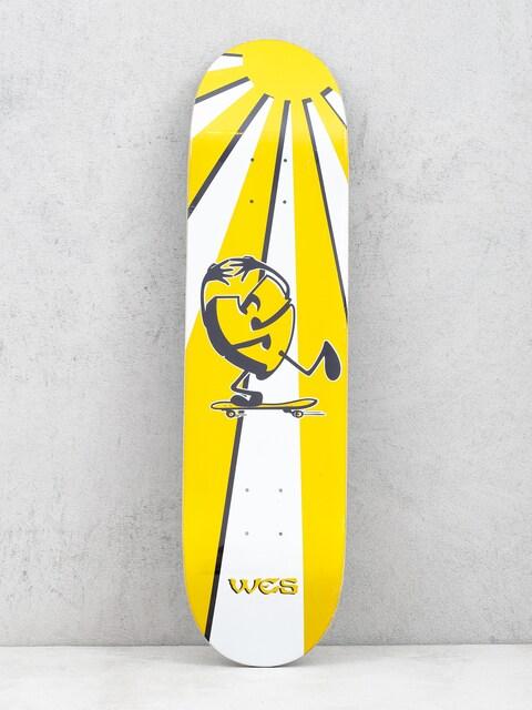 Sk8Mafia Wes Kremer Rising Sun Deck (yellow/white)