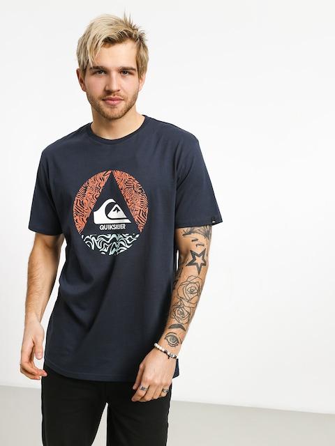 Quiksilver Ca Plane Pour Moi T-shirt (blue nights)