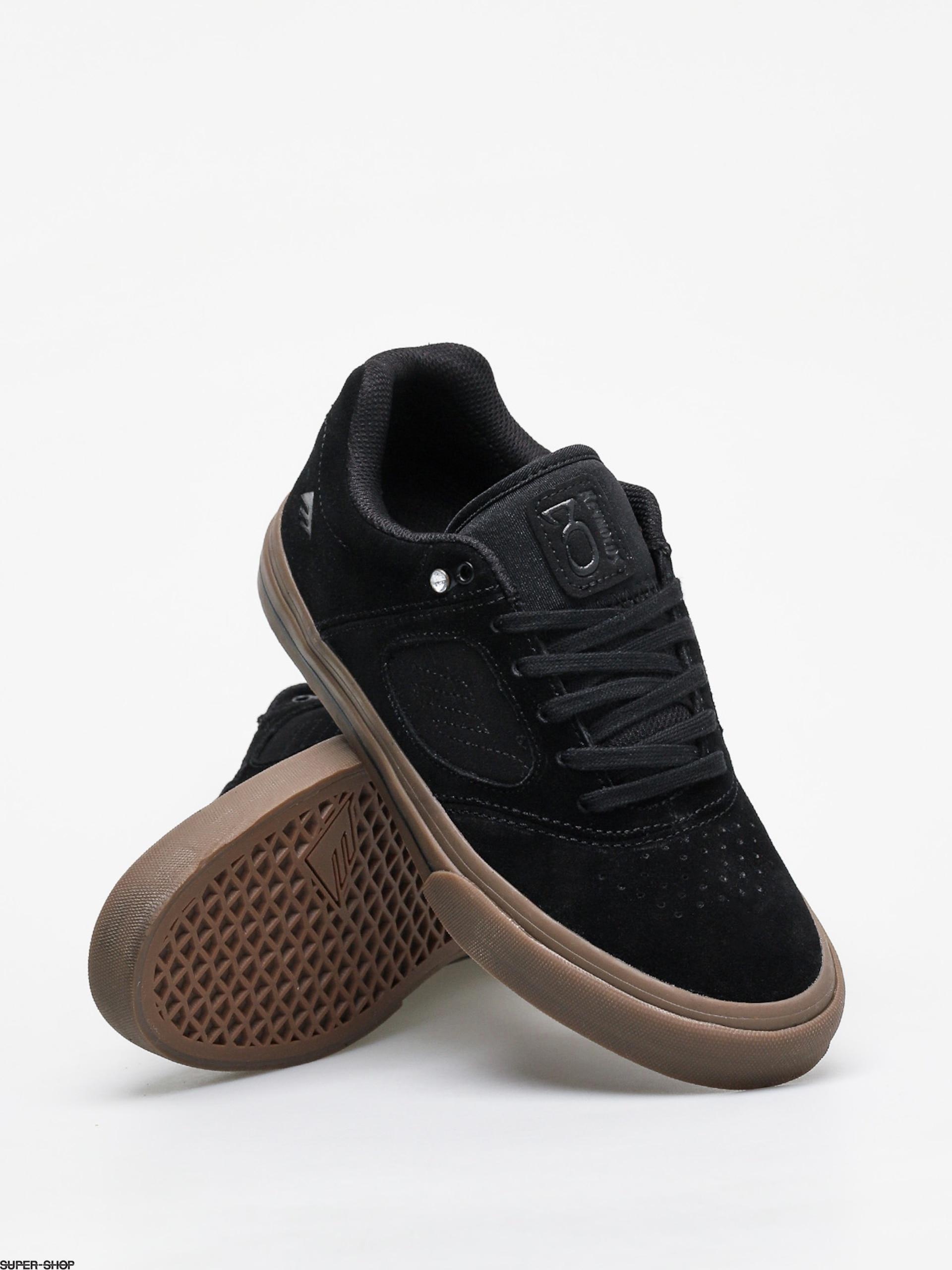 Emerica Reynolds 3 G6 Vulc Shoes (black