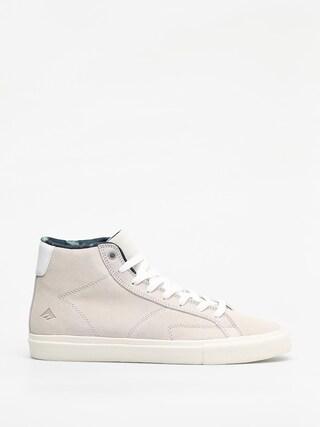 Emerica Omen Hi Shoes (white/white)