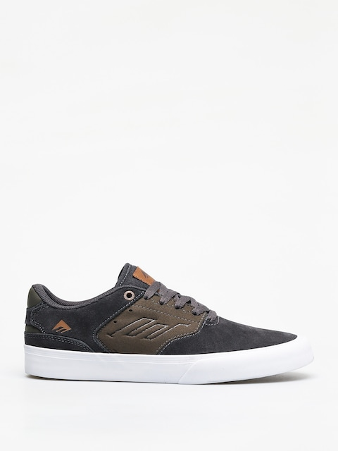 Emerica The Reynolds Low Vulc Shoes (grey/green)