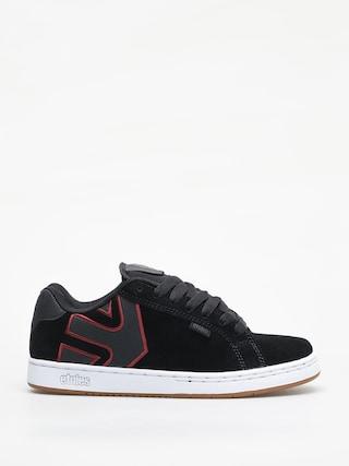 Etnies Fader Shoes (black/white/burgundy)