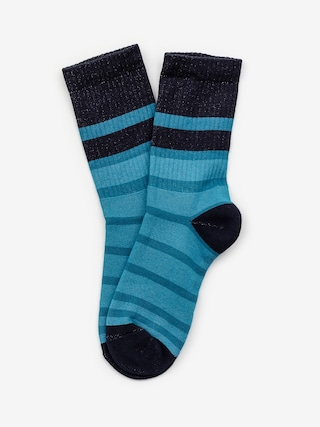 Malita Stripes Socks (green/turquise)