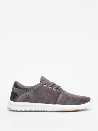 Etnies Scout Shoes Wmn (grey/white/gold)